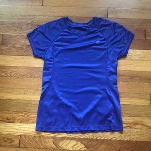 Champion medium purple workout shirt